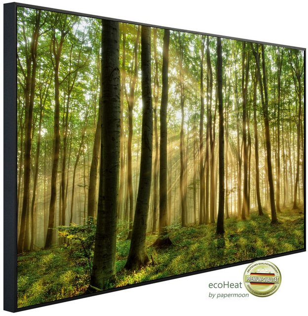 PAPERMOON Infrarotheizung »EcoHeat - Wald Morgensonne«,