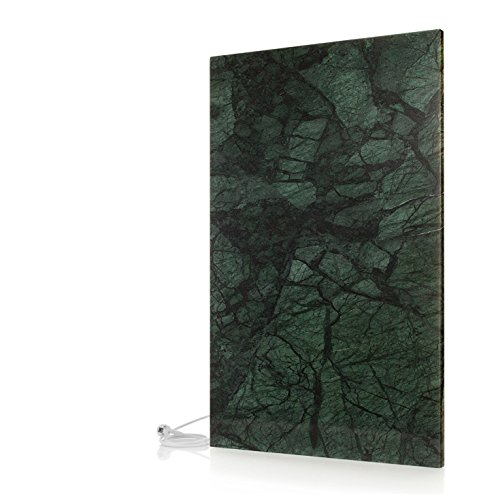 Infrarotheizung (Granit Indian Green) 1200 Watt, 98x62x2 cm