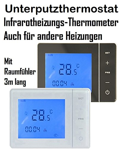 Digitales Unterputzthermostat mit Wireless Funktion