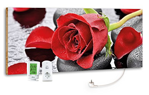 "Marmony M800 Plus Infrarotheizung ""Red Rose"""