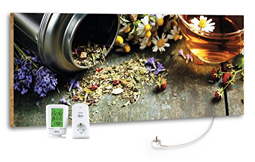"""Marmony M800 Plus Infrarotheizung """"Flower Table"""""""